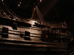 The 17th Century Vasa Ship