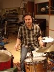Drummer Fredrik Rundquist